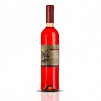 Wino Natura Dzika Róża Słodkie
