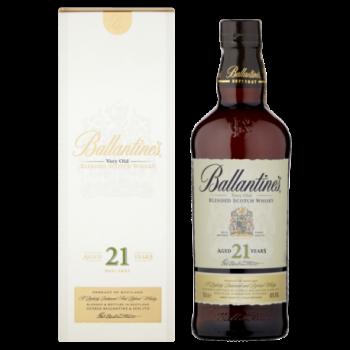 Ballantine's Aged 21 Years...
