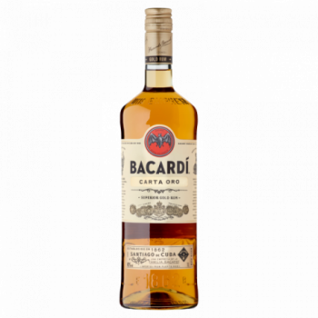 Bacardi Carta Oro Rum 1 l
