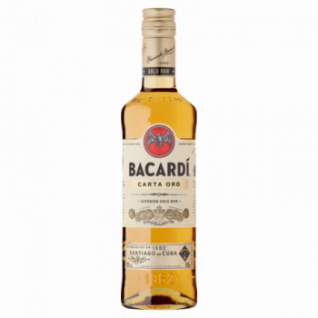 Bacardi Carta Oro Rum 500 ml