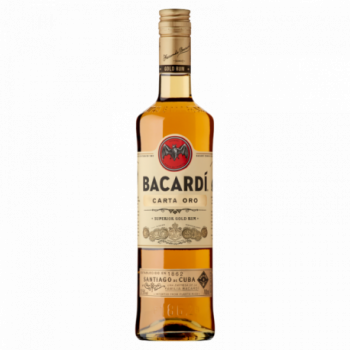 Bacardi Carta Oro Rum 700 ml