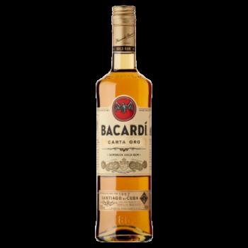 Bacardi Carta Oro Rum 700 ml
