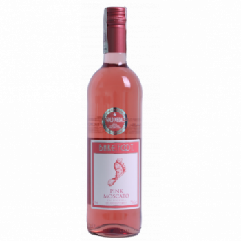 Barefoot Pink Moscato Wino...