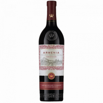 ARMENIA YEREV SEMI DRY RED