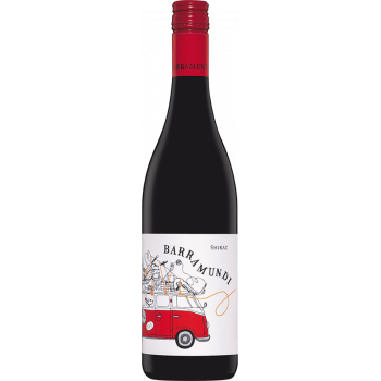 BARRAMUNDI Shiraz red dry