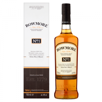 BOWMORE NO 1 0,7L KART