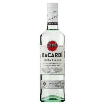 BACARDI CARTA BLANCA 0,5L