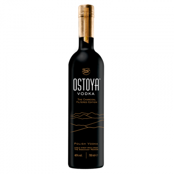 OSTOYA BLACK WÓDKA 0,7L