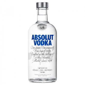 ABSOLUT BLUE 0.70L