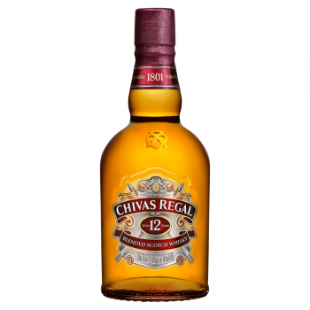 CHIVAS REGAL 0,5L BUTELKA