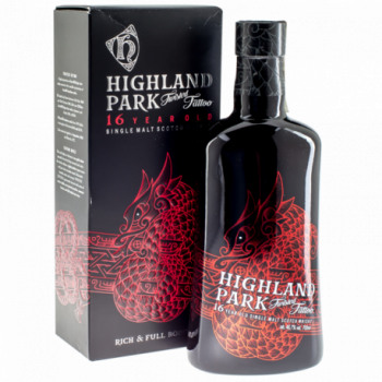 HIGHLAND PARK 16YO TATOO 0,7L