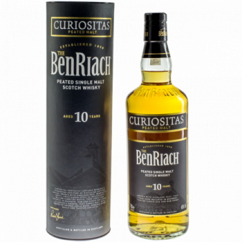 BENRIACH CURIOSITAS PEATED 10Y