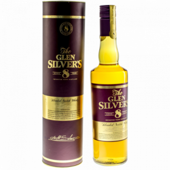 GLEN SILVER'S 8 YEARS OLD 0,7L