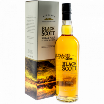 BLACK SCOTT SINGLE MALT 0,7L