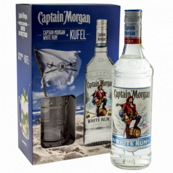 CAPTAIN MORGAN WHITE 0,7L + KU