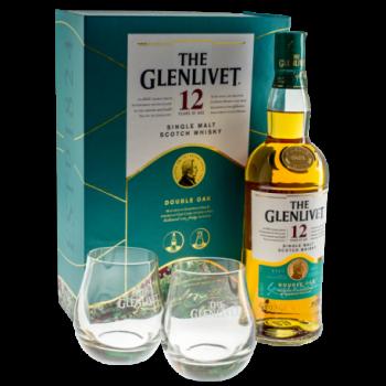 GLENLIVET 12YO 0,7L+SZKL