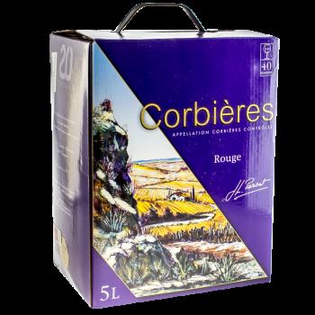 CORBIERS AOC RGE BIB 5L