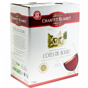 COTES DE BOURG 3L CH BLANET