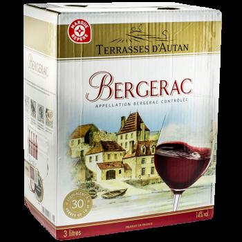 AOC BERGERAC ROUGE BIB 3L