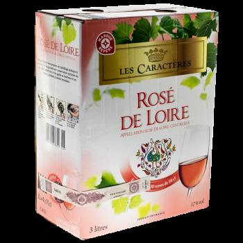 ROSE DE LOIRE LES CARACTERES