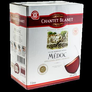 MEDOC BIB 3L CHANTET BLANET