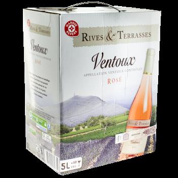 AOC VENTOUX RIVES ROSE 5L