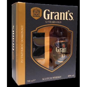 GRANT'S 12YO 0,7L + PIRERSIÓW
