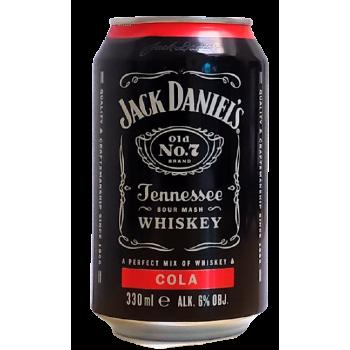 JACK DANIEL'S&COLA 0,33L