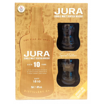 JURA 10Y 0,7L +2 SZKLANKI