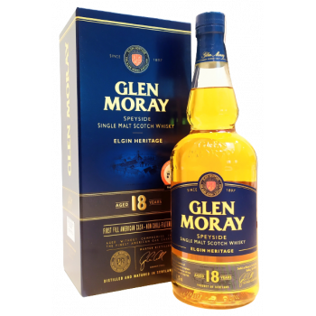 GLEN MORAY 18YO 0,7L