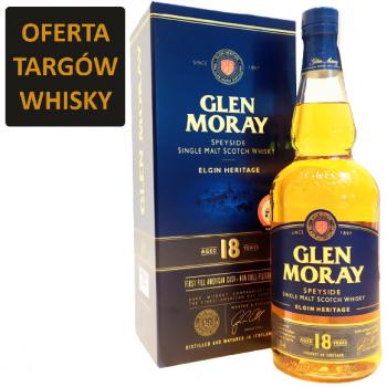 GLEN MORAY 18YO 0,7L