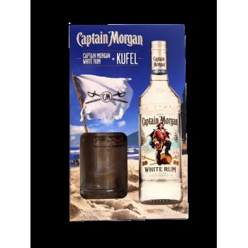 CAPTAIN MORGAN WHITE 0,7L + KU