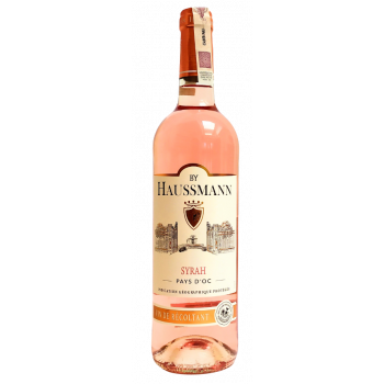 BY HAUSSMANN SYRAH ROSE 0,75l