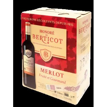 HONORE DE BERTICOT MERLOT 3L