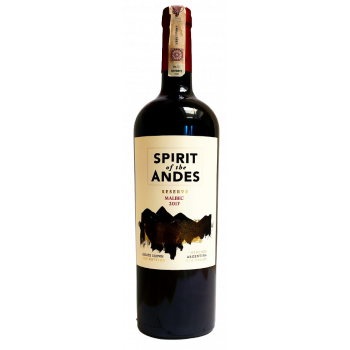 SPIRIT OF ANDES MALBEC RESERVA