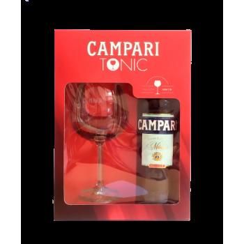 CAMPARI+KIELISZEK 0.70L